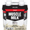 Muscle Milk Genuine Rich and Delicious Protein Shake, 25g Protein, Creamy Vanilla, 44 Ounces, 4 Count
