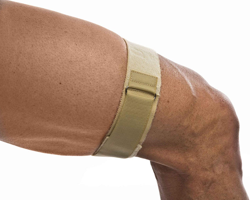 Cho Pat, Support for Running and Everyday Activities to Relieve Discomfort from Iliotibial Band Syndrome, Extra Large, Tan