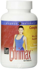 Diet Citrimax Complex Source Naturals Dietary Supplement Tablet, For Adults, 120 Count