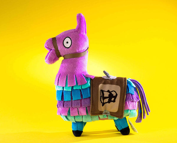 Fortnite 7 Inches Llama Loot Plush, High-Quality Fabric and Incredible Embroidered Details, Multicolor