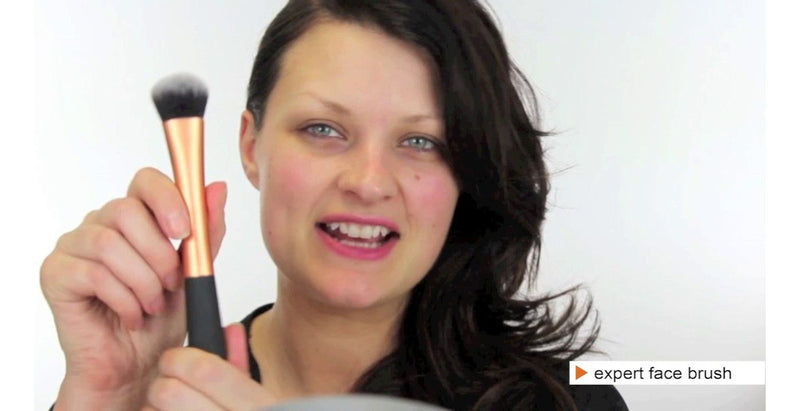 Real Techniques by Sam and Nic Chapman Expert Face High Quality Makeup Brush for Foundation