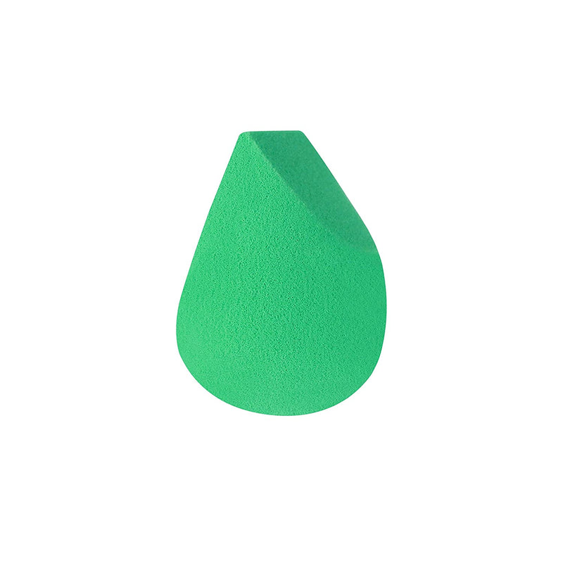 Ecotools Perfecting Sponge Makeup Blender, Beauty Sponge, Made with Recycled and Sustainable Materials, Green