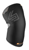 Shock Doctor Knee Sleeve with Closed Patella and No-Slip Silicone Gripper Pattern Lining for Adults, Small: 12.25 Inches to 13.25 Inches, Black