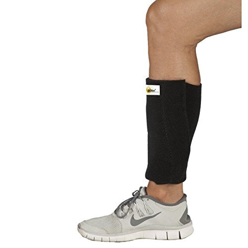 BIOflex Magnetic Shin Support Neoprene with a Coolmax lining and 2 BMMI Concentric Circle Magnets for Legs, Universal: 18 Inches - 19 Inches