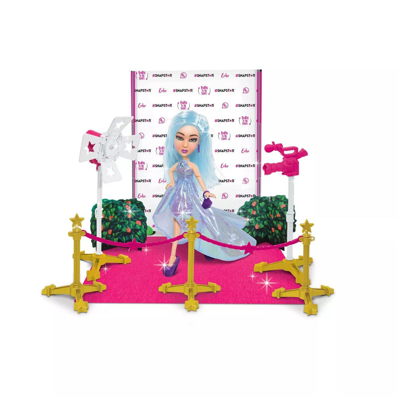 SNAPSTAR Pop Royalty: Echo's Debut on the Pink Carpet with Stunning Purple Heels with Matching Accessories, Immersive World of Fashion, Beauty, Music, Photography and Design