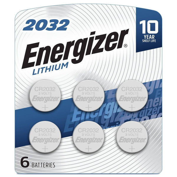 Energizer Long Lasting Dependable Performance Lithium 6 Coin Cell Batteries, 6 Count