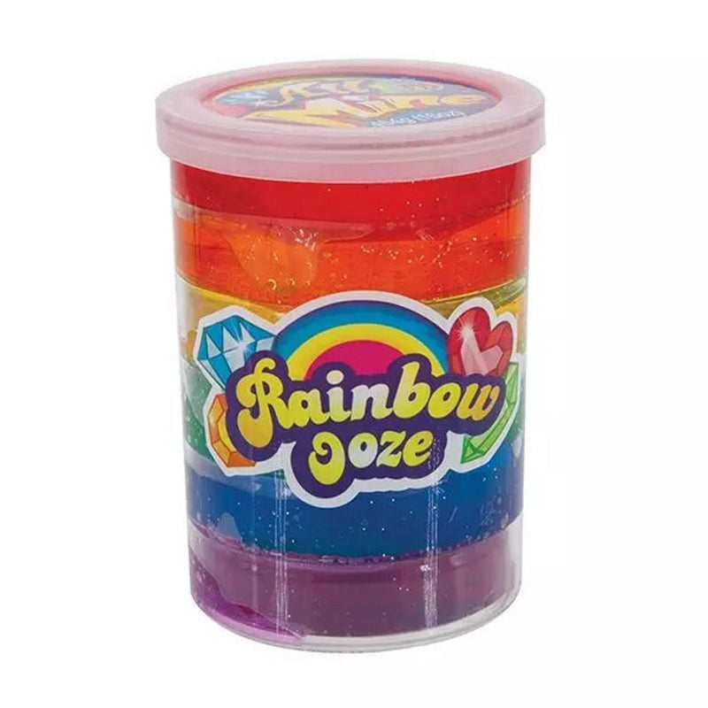 JA-RU All Mine Rainbow Slime Ooze Colorful Sludge Galaxy Glitter Sensory Safe and Non-Toxic Putty