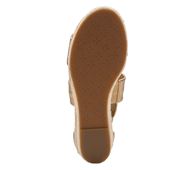 Patricia Nash Zipper Entry Espadrille Bottom Sandals, Rubia, 7-1/2 Medium, Prairie Rose