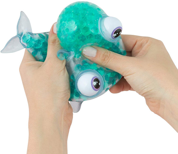 Orb Bubbleezz Pets Squishy Toyrare Animalzz Mega Bubbly Billy Killer Blue Whale, Teal