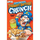 Cap'n Crunch's Breakfast Cereal, Rich, Convenient and Easy to Prepare, Indulgent Peanut Butter Flavor, 12.5 Ounce