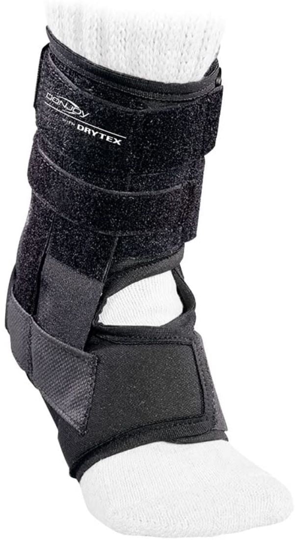 Donjoy Rocketsoc for Left Ankle, Small: Men 6 Inches-7.5 Inches, Women 8 Inches-9.5 Inches