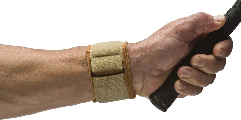 Cho-Pat Wrist Support, Diminishes Stress, Pressure & Pain, Medium: 6.5 Inches - 7 Inches, Tan