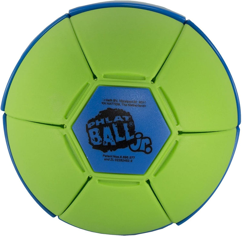 Goliath Sports Phlat Ball Jr. Throw and Catch Toy Pops Into a Ball, Blue/Green/Purple
