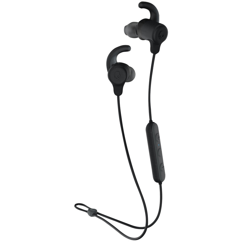 Skullcandy S2JSW Jib+ Active Wireless In-Ear Earbuds with Microphone, Waterproof, Black
