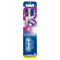 Oral-B Pro-Flex Unique Stain Eraser Manual Toothbrush, Gentle on Your Enamel, Multicolor, 2 Count