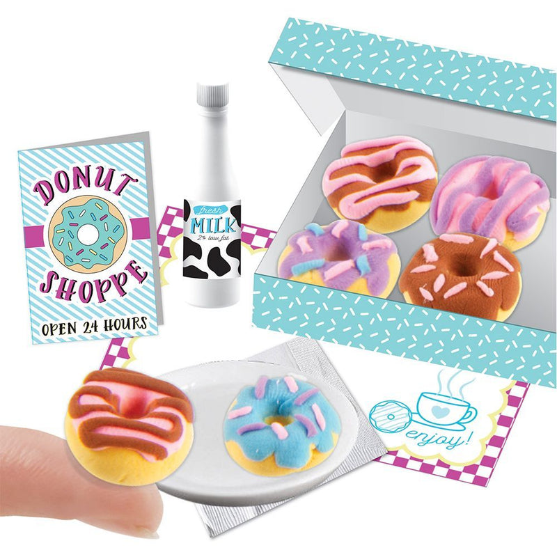 Fashion Angels Easy Peasy Gorgeous 'Mini Clay Kit' Extra Small Donuts Kids Food Play Set