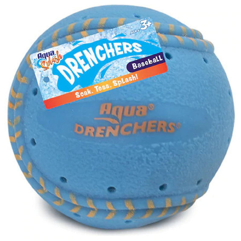 Aqua Leisure Drenchers Safe Flexible Unique Greyland Realistic Sport Baseball, Blue