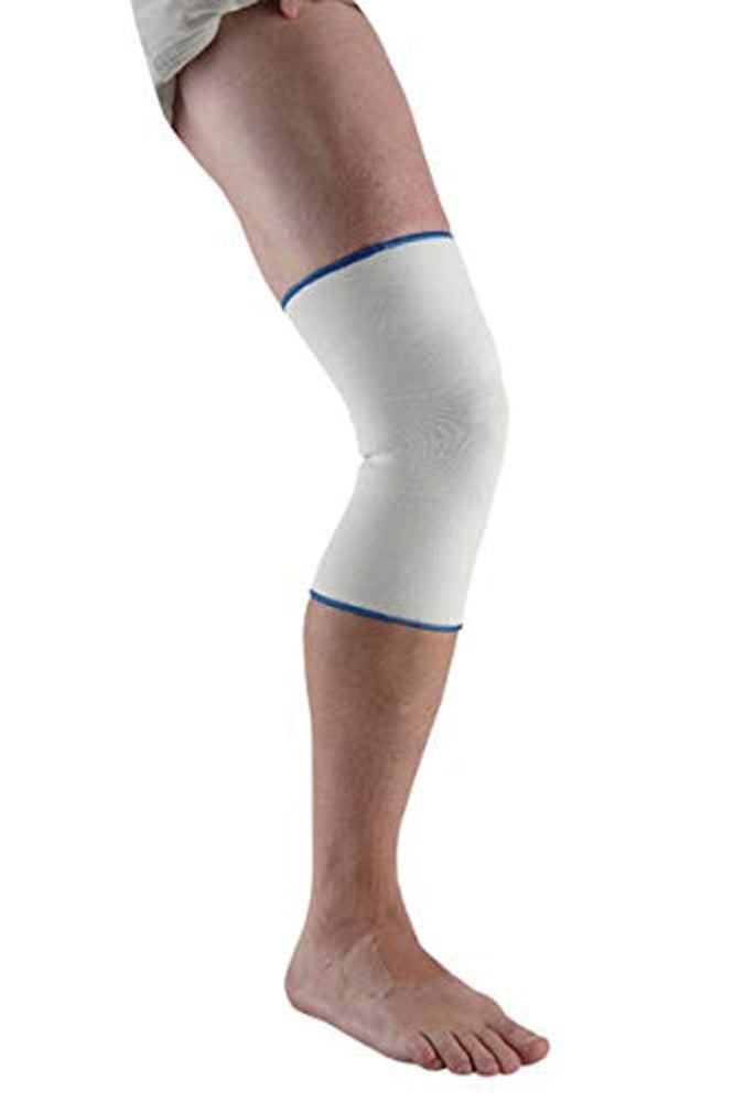 Ossur Elastic Knee Support, Flexibility and Compression, Reduces Swelling, Cool Contoured Comfortable Fit Design, Small, White
