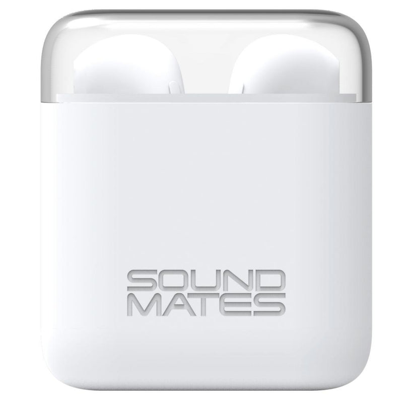 Tzumi SoundMates Portable Wireless Bluetooth Earbuds with Protective Charging Case