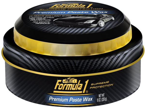 Formula 1 Supreme Premium Auto Care Breakthrough Technology Car Paste Wax, 8 Ounce