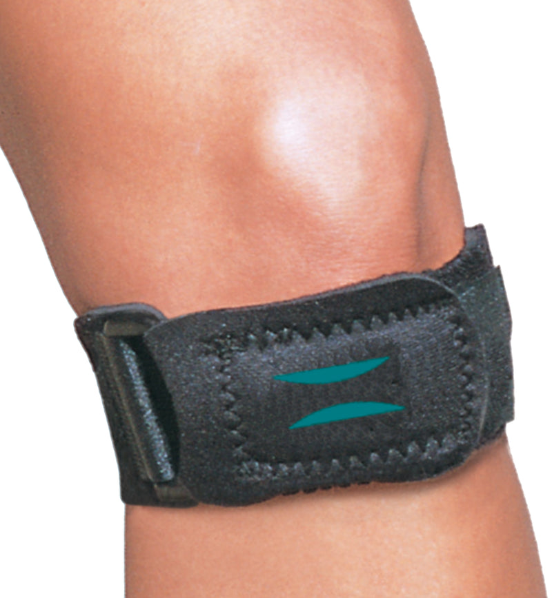 Hely & Weber 3704 Matt Strap, Shock Absorbing, Useful For Patella Tendonitis, Extra Small: 7 Inches By 8 Inches, Black