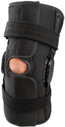 Breg 21751 Airmesh Support Open Back Hinged Wraparound Shortrunner, Extra Small, Black