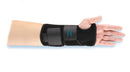 Hely and Weber 5819-RT-PED Perforated Neoprene Modabber for Right Wrist Orthosis, Pediatric, Black