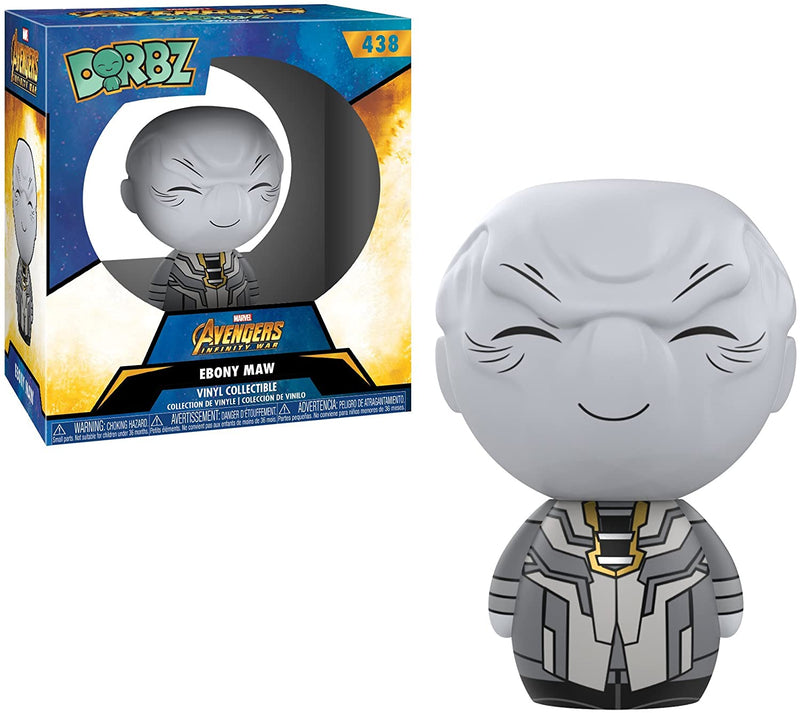 Funko Marvel Avengers Infinity War Ebony Maw Dorbz Vinyl Figure, For 3 Years and Above