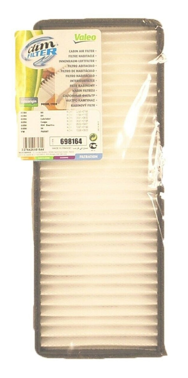 Valeo VLE698164 Cabin Climfilter Comfort Dust Air Filter for Audi and Volkswagen Cars