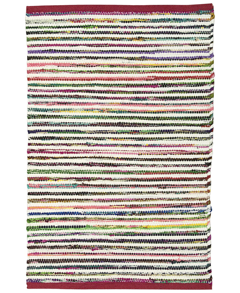 Nourison Montclair 24 Inches x 36 Inches Accent Rug, Vibrant and Eye-Catching, Add a Cheerful Touch to the Rest of Your Bath Decor, Multicolor