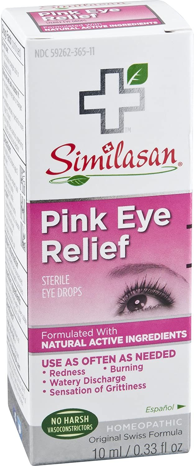 Similasan Kids Irritated 100 Percent Natural Homeopathic Eye Relief Drops, 0.33 Ounce