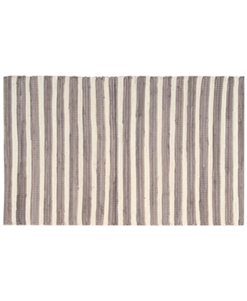 Nourison Brunswick Stripe Accent Rug, Brings Bold Color and Contemporary Appeal to Any Setting, 24 Inch By 36 Inch, Brown