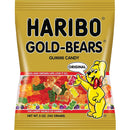 Haribo, Gummi Candies, Gold Bears Original Assortment, Soft, Chewy, Translucent and Bursting with a Fruity Yummy Taste, 5.0 Ounce