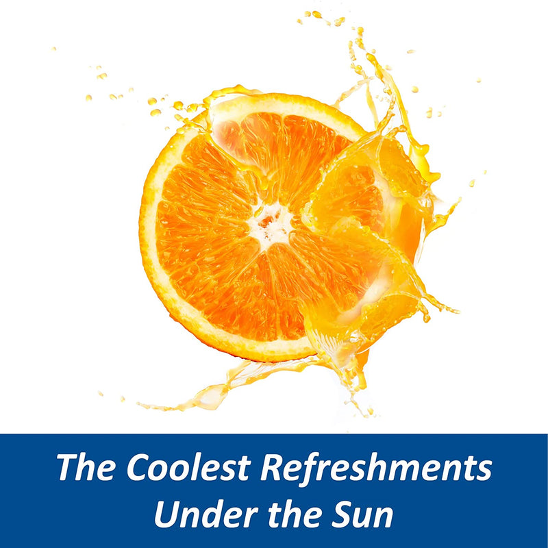 Sunkist Soda Singles To Go Drink Mix, Orange, 6 Sticks, Non-Carbonated and Sugar-Free