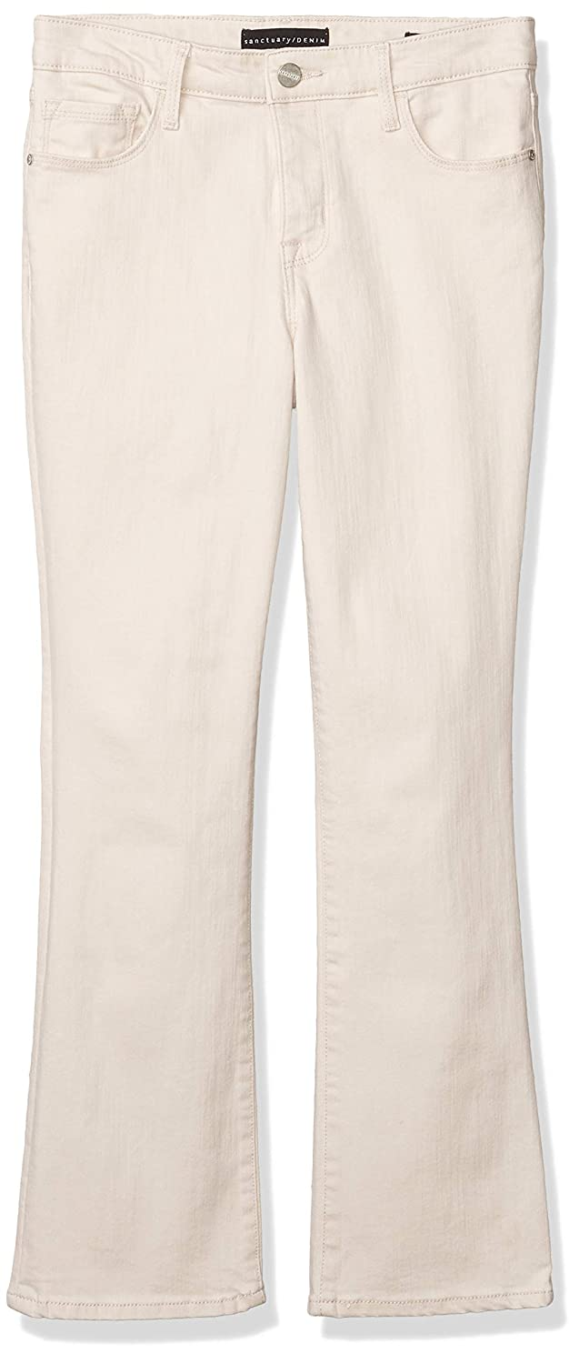 Sanctuary Denim Women's Connector Kick Mid Rise Functional Pocket Cropped Jean, 24, Moonstone