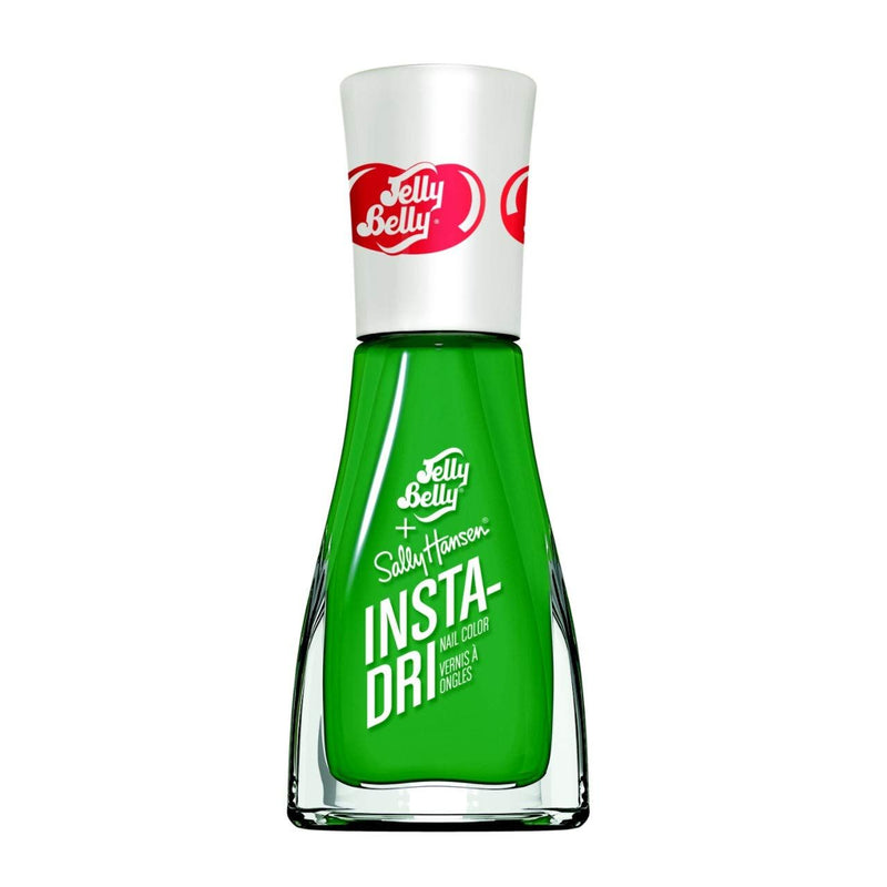Sally Hansen  3-in-1 Formula Insta Dri x Jelly Belly Nail Color, 0.31 Fluid Ounce, Green Apple