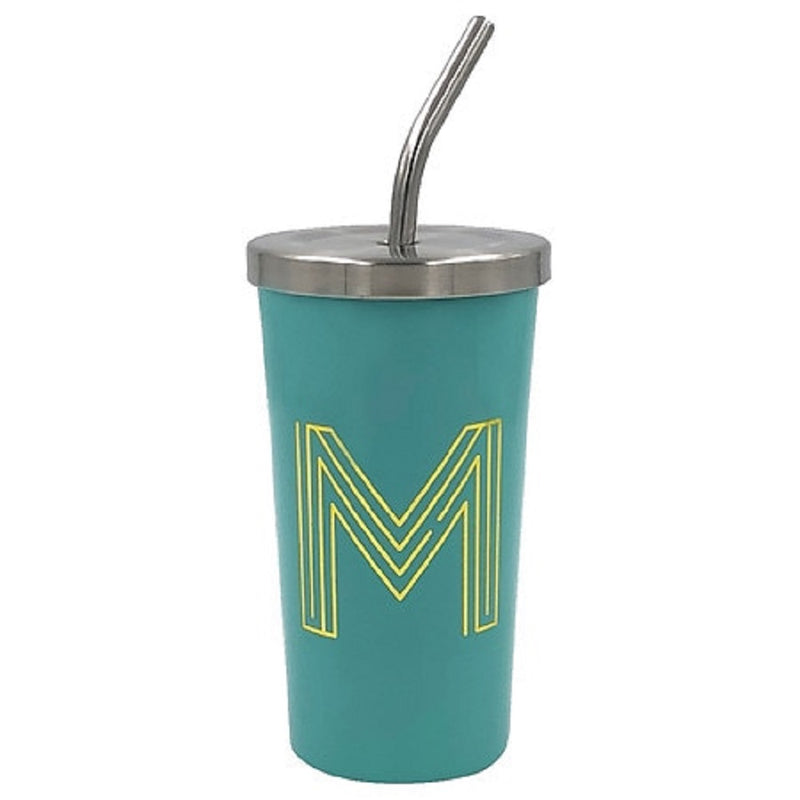 "Modern Expressions Monogrammed Steel Tumbler Assortment ""M"""