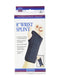 "FLA Orthopedics Pro-Lite 8"" Wrist Splint, Fit Wrists 5.5"" - 6.5"" Inches, Left, Large, Black"