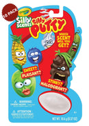 10-PACK Crayola Silly Scents Sweet or Stinky Mystery Silly Putty Safe and Nontoxic Egg Toy