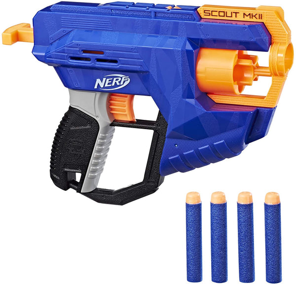 Nerf N-Strike Dart Rotating Designed for Distance Drum Elite Scout MKII Hand Blaster
