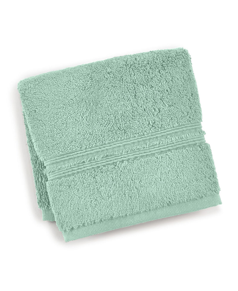 Hotel Collection Turkish 13 Inches (L) x 13 Inches (W) Square Washcloth Bedding, Gives A Spa-like Feel To Your Bathroom, Vapor