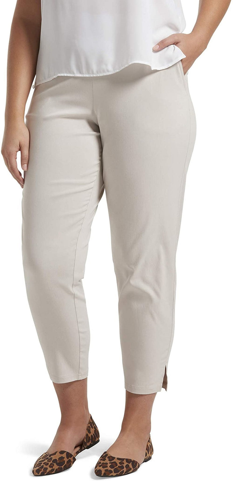 HUE Temp Tech Pull On Closure Comfortable Women's Texh Trouser Leggings, 2X, Wind Chime