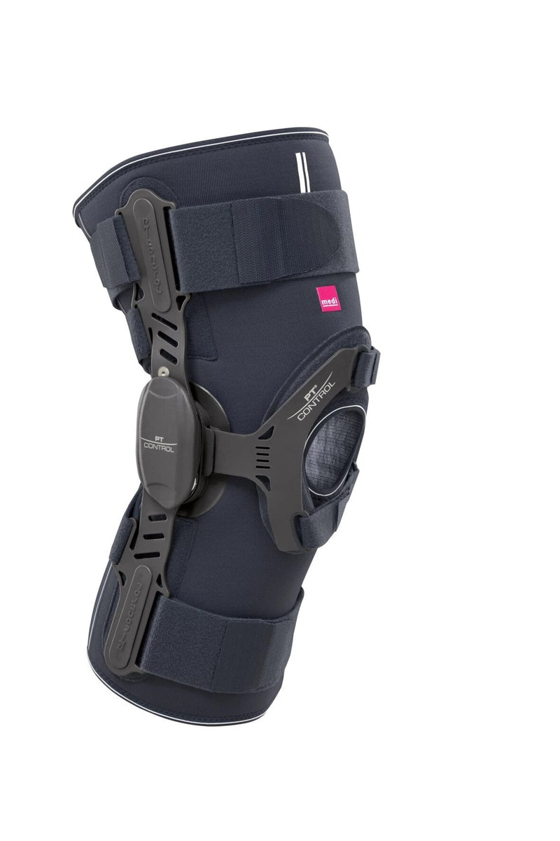 Medi PT Control II Patella Tracking Right Knee Knee Brace with Airtex Material, X-Small: 12.25-14.5 Inches, Grey