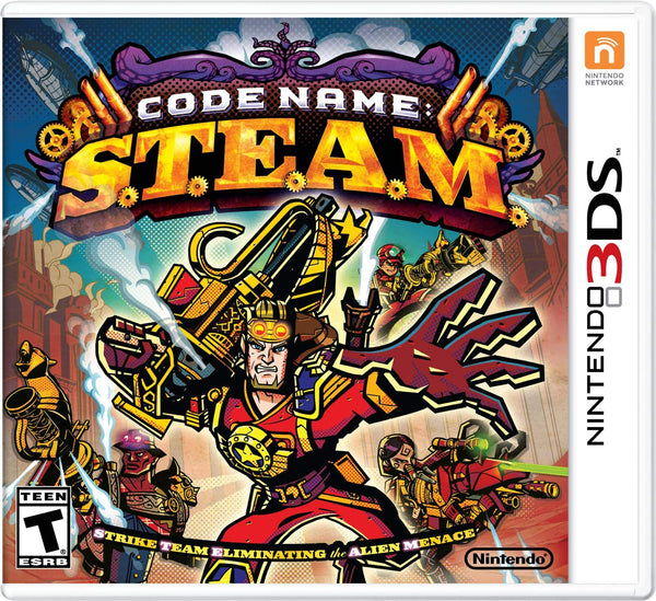 Code Name S.T.E.A.M. Elite Team, Special Force Soldiers, Nintendo 3DS