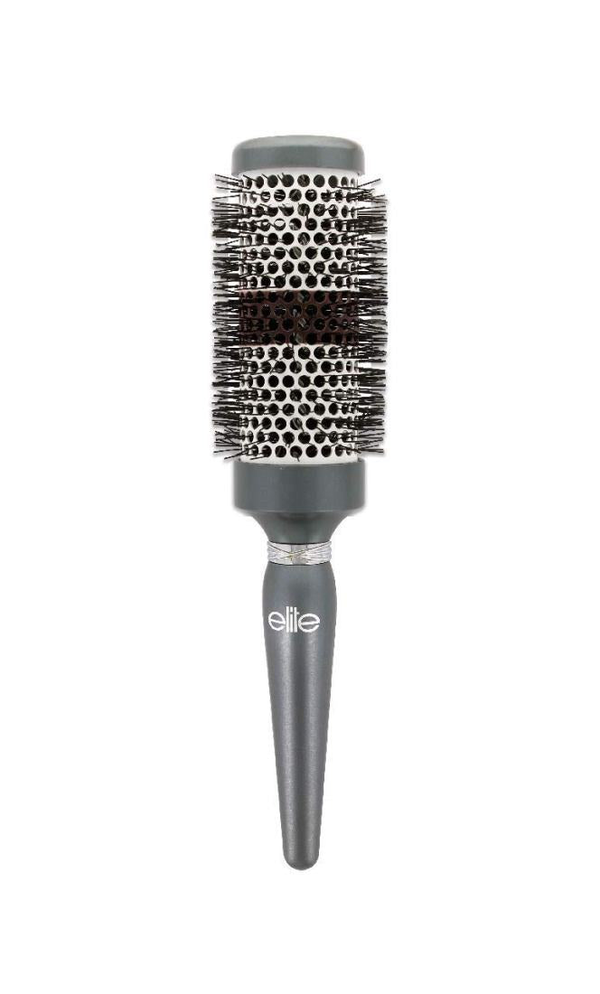 Elite Models Jewel Round Brush Ceramic Head for Medium to Long Hair, Large, 1.41 Ounce