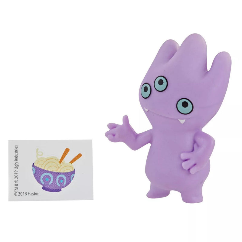 UglyDolls Lotsa Ugly Mini Figures Series 1, 4 Accessories, Introduce Kids to the Kooky Cast in a Cute-as-Pie Mini Scale, Blue