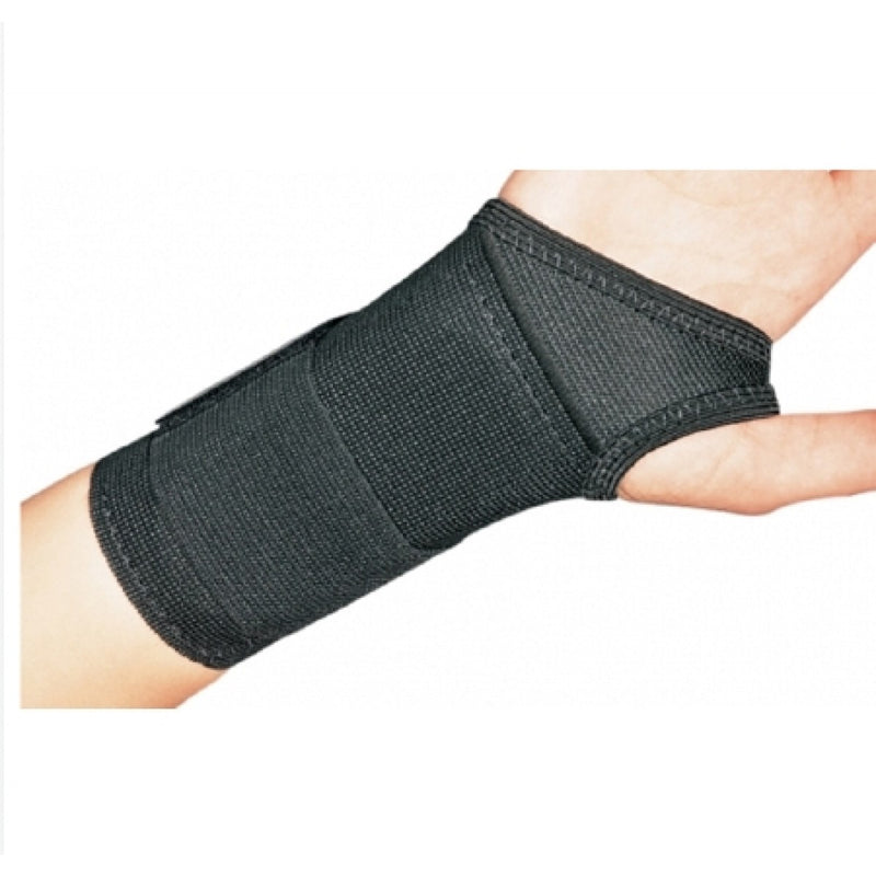 Procare Safety Wrist, Elastic Fabric, Right Hand, 6 Inch Lenght, 5.5 To 6.5 Inch Wrist Circumference, Small, Black