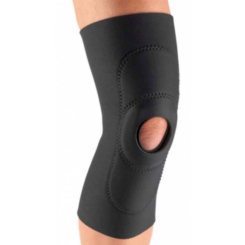 Procare Sport Knee Reinforced, Pull-On Closed Popliteal, Left or Right Knee, X-Large: 23-25.5 Inches Circumference, Black