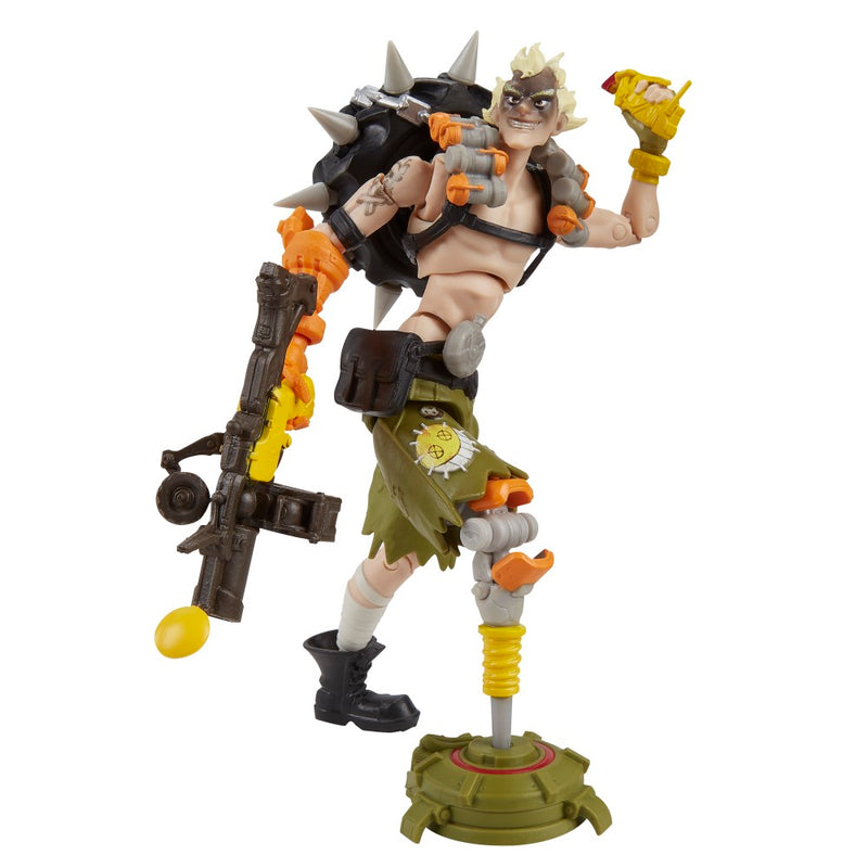 Overwatch Ultimates Series Junkrat 6-Inch-Scale Collectible Video Game Character Action Figure with Accessories