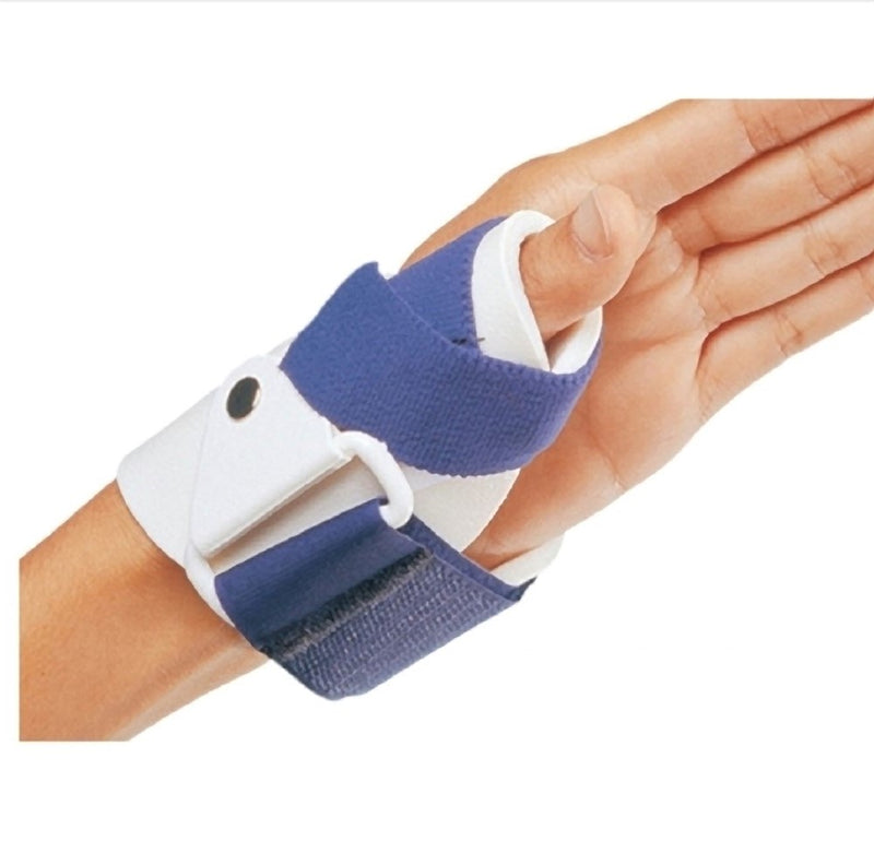 Procare Thumb Guard Hook and Loop Closure, Constructed with Moldable Outer Shell and Thin Foam Liner, Left Thumb, Extra Small